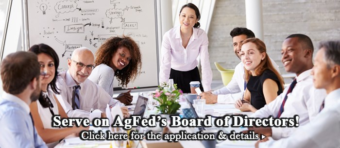 Serve on AgFed's Board of Directors!